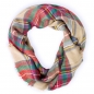 Preview: Damen Herbst/Winter Schal Herbstschal Winterschal Stola Oversized tartan