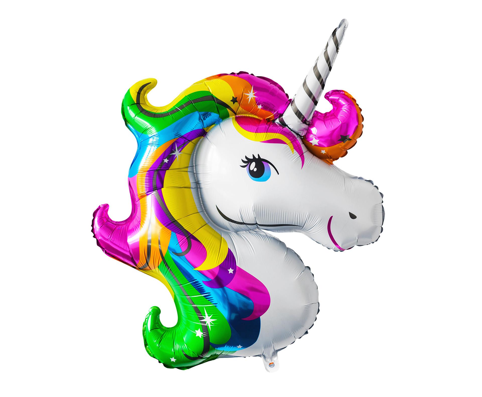 Mybeautyworld24 runder geburtstag dekozubeh r tischdeko ballongas geschenk unicorn kinderparty - Einhorn dekoration ...